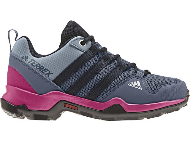 adidas TERREX AX2R ClimaProof Sko Børn grå/pink